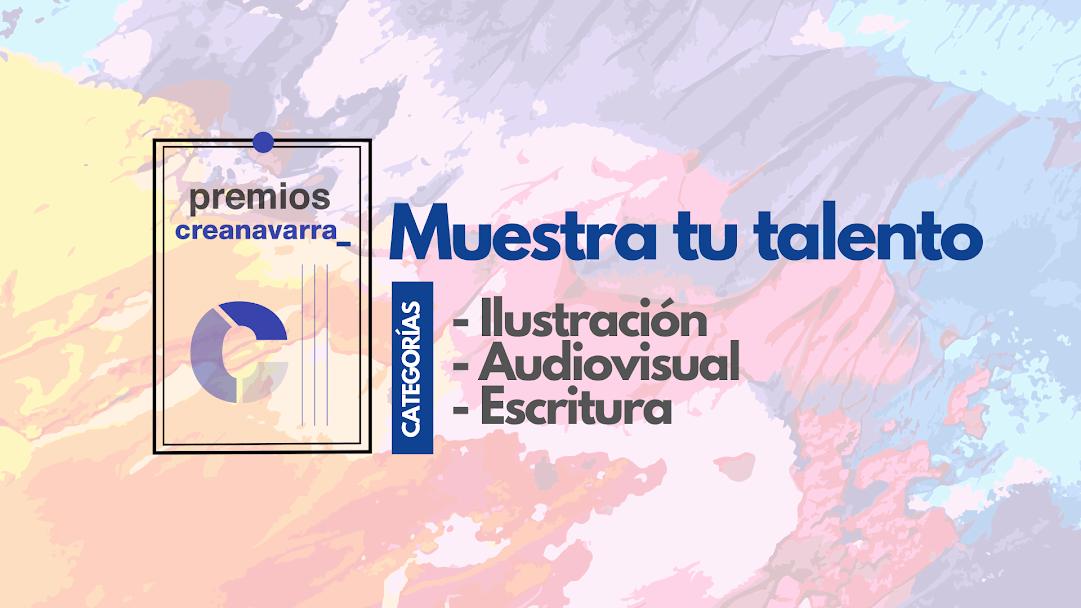 Premios Creanavarra: para talentos de ilustración, audiovisual y comunicación escrita