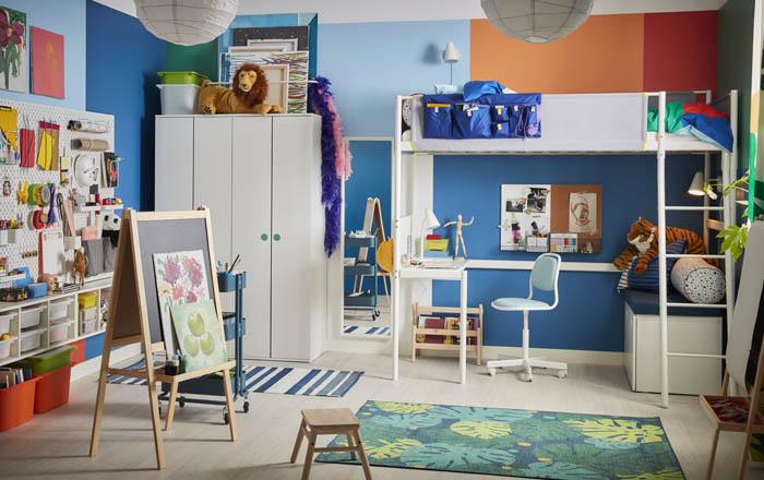 habitacion niño completa IKEA