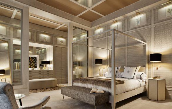 Dormitorio-con vestidor-Roman&Windows-Ángel Verdú-Foto Nacho Uribesalazar