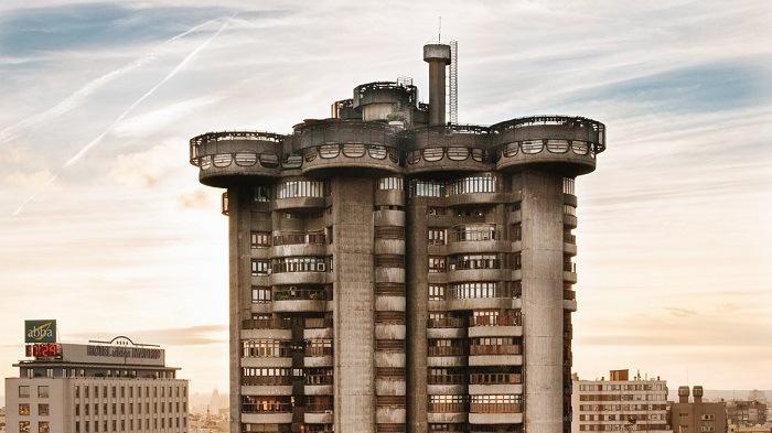 Torres Av america. Madrid