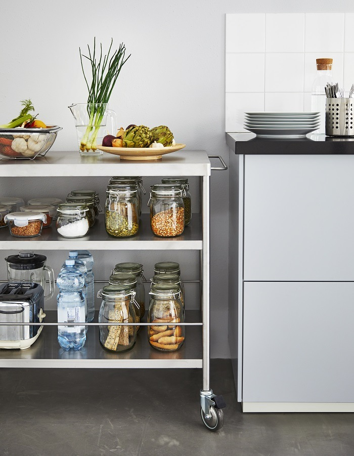 ideas para organizar tu despensa estanteria ikea