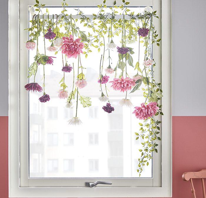 Decoración de ventanas y balcones por IKEA