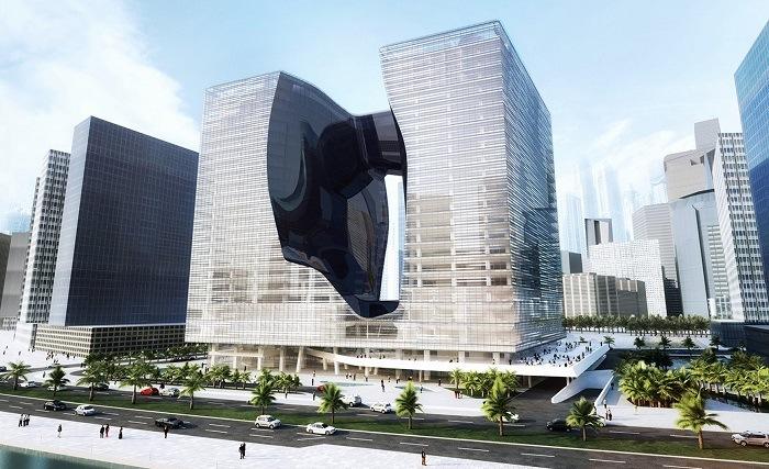 Edificio futurista Dubai