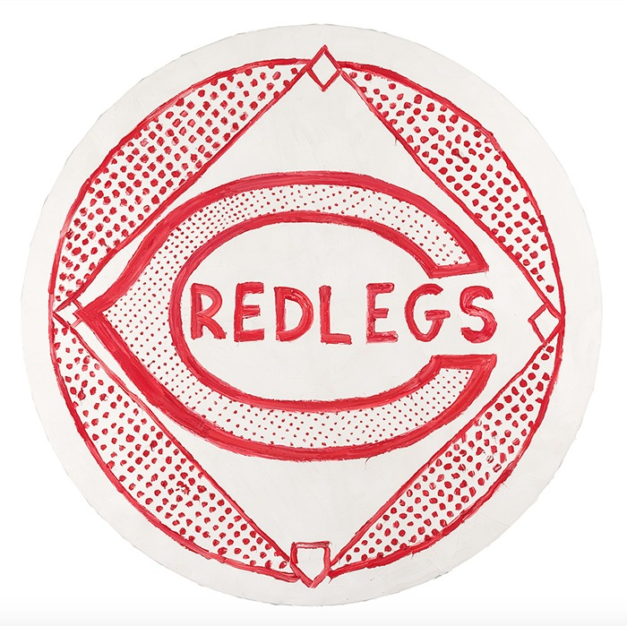 equipo beisball logo red legs