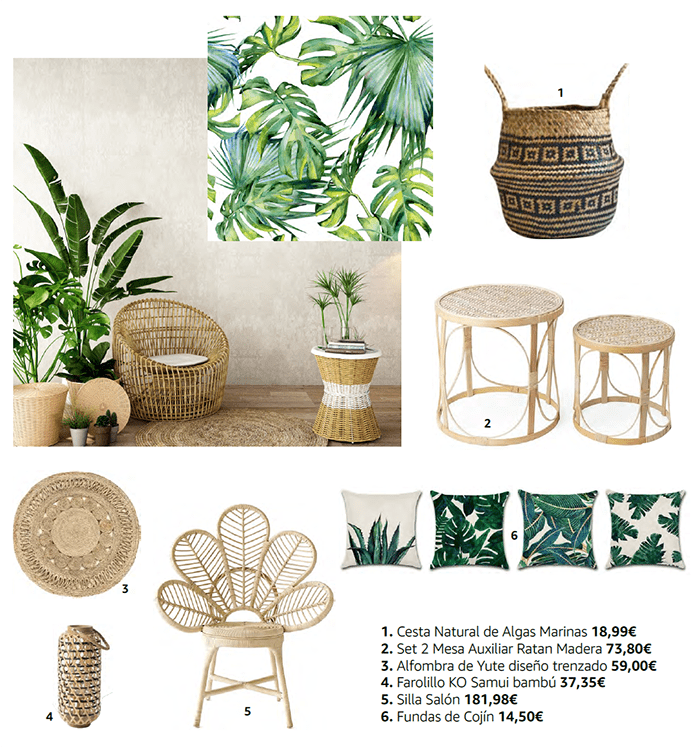compra decoracion primavera amazon