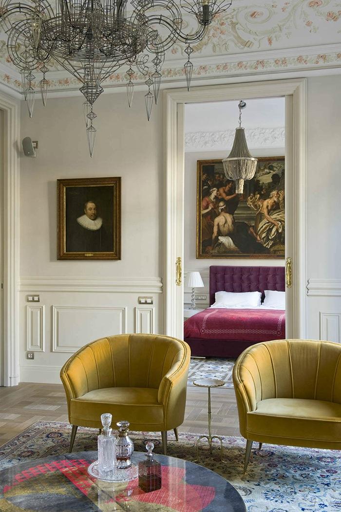 salon clasico victoriano moderno