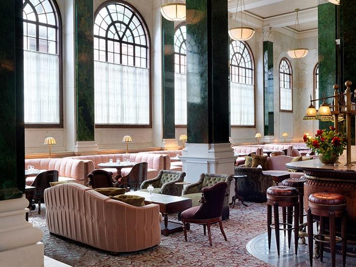 salon estilo victoriano moderno