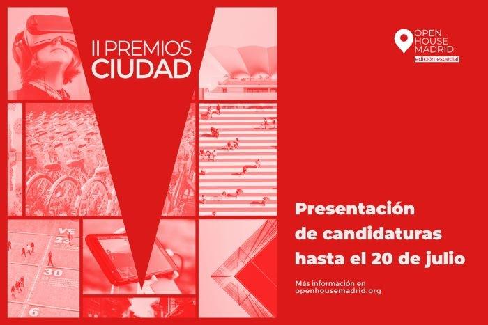 Open House Madrid convoca la II Edición de los Premios Ciudad