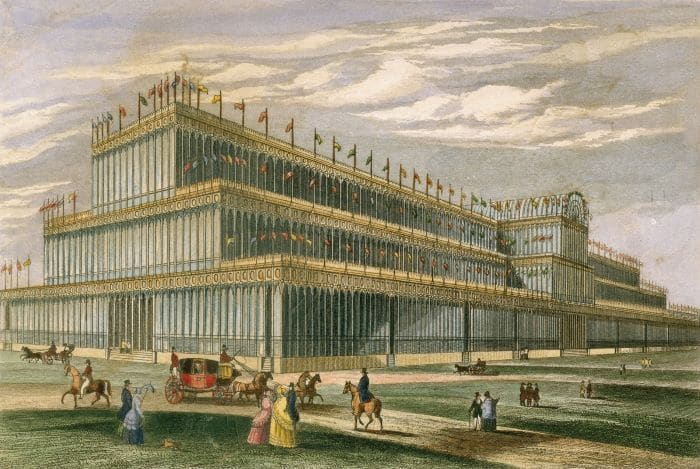 Palacio de Cristal de Joseph Paxton