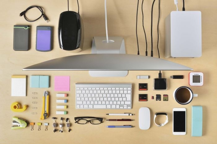 Organización en tu mesa de trabajo