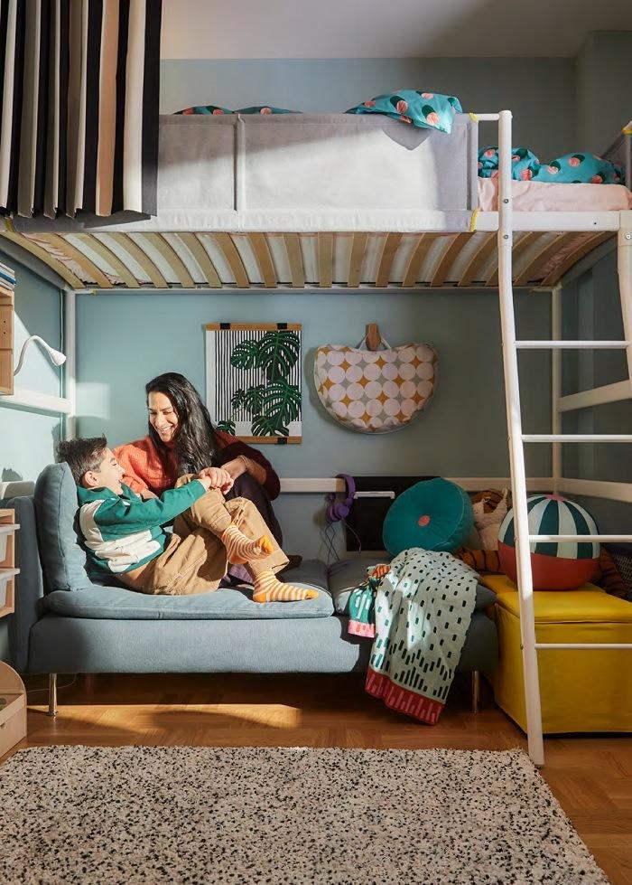 Litera de catálogo IKEA 2021