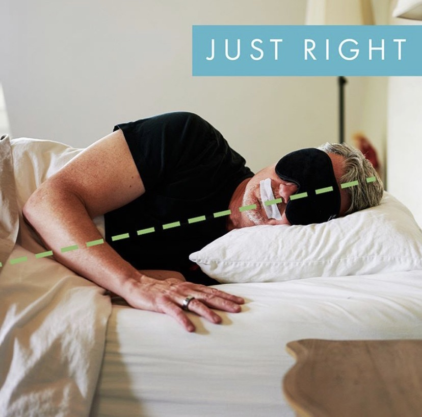 posicion correcta para dormir
