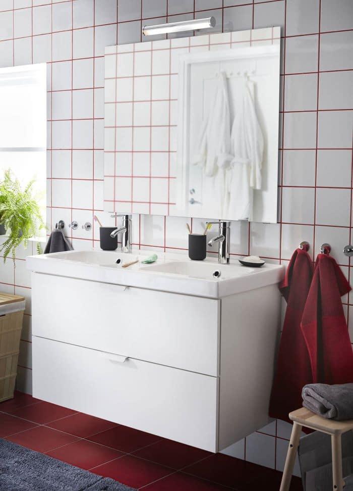 Baño y toallas IKEA 2021