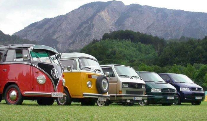 Tipos de furgoneta Volkswagen