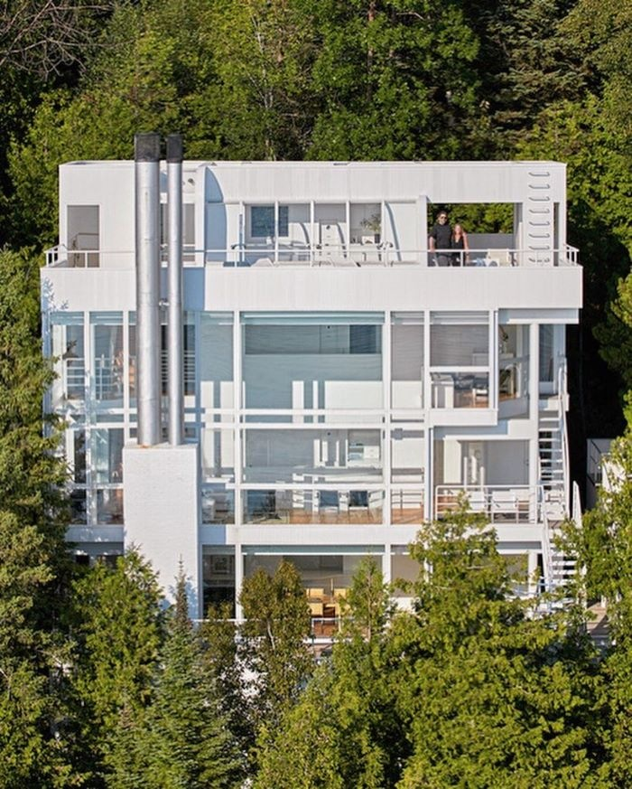 Richard Meier´s Douglas House