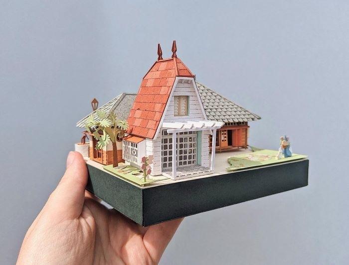 Casa en miniatura