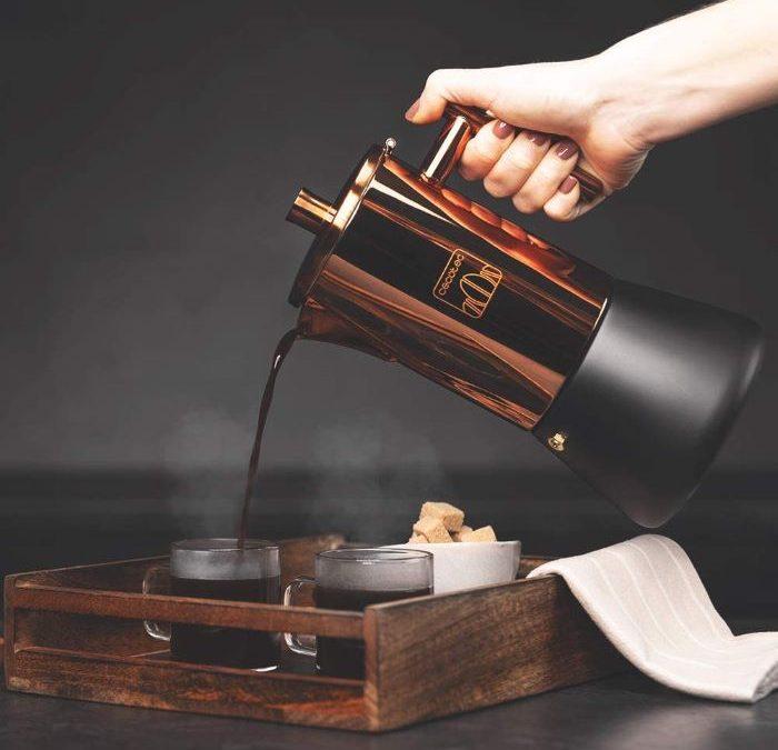 Cafeteras italianas de diseño para tu momento cafetero