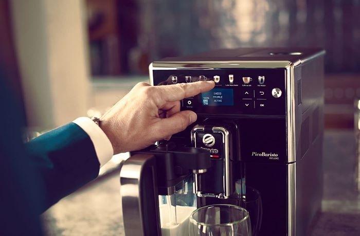 cafetera eléctrica de diseño Philips