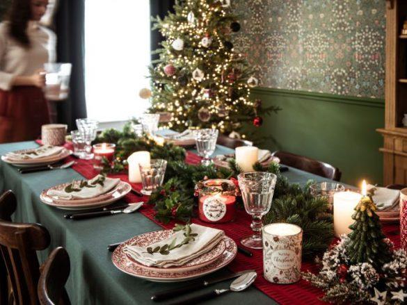 Decoración de tu mesa para esta Navidad