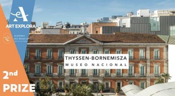 Museo-Nacional-Thyssen-Bornemisza como 2º premio en Art Explora/Bella Artes