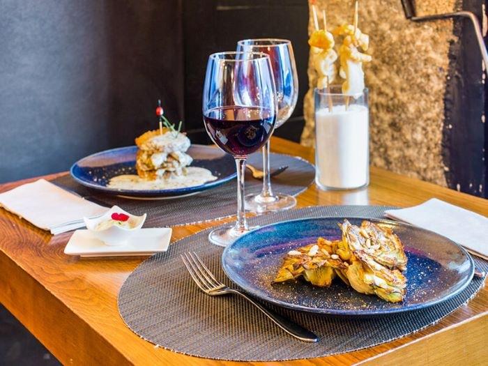 Restaurante gourmet en Madrid como regalo para San Valentín a tu pareja