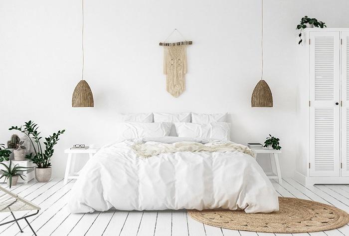 decoracion minimalista dormir