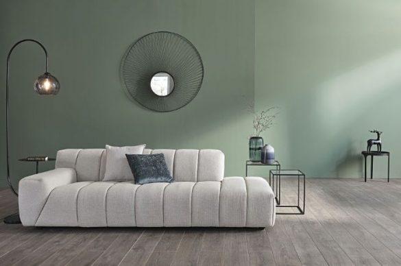 espejo-redondo-de-alambre-negro-estilo-contemporáneo de Maisons du Monde