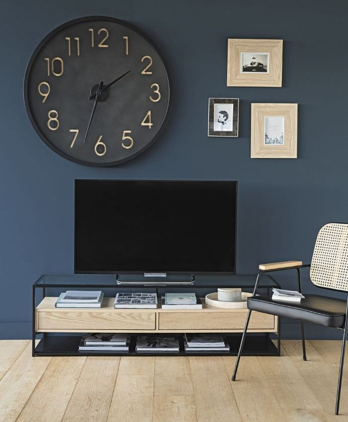 reloj-bicolor-estilo-contemporáneo de Maisons du Monde