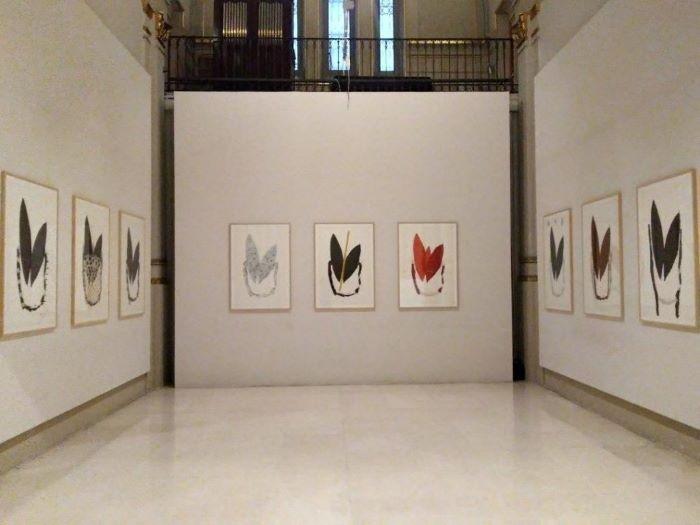 Exposición de Alberto-Corazon-en-la-Fundacion-Carlos-de-Amberes