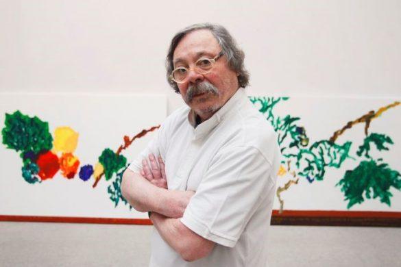Artista de diseño, pintor, escultor y escritor Alberto Corazón