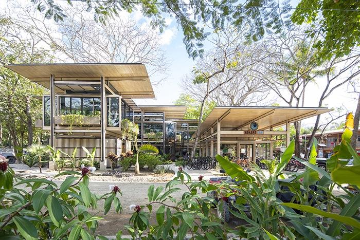 Ganador concurso arquitectónico ArchDaily 2021 exterior proyecto vegetación