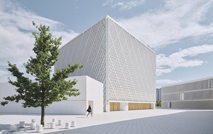Ganador concurso arquitectónico ArchDaily 2021 exterior lateral proyecto