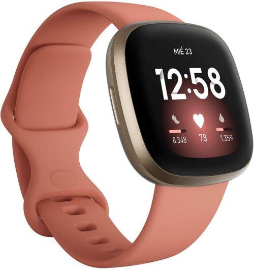 Reloj inteligente para la salud y hacer deporte