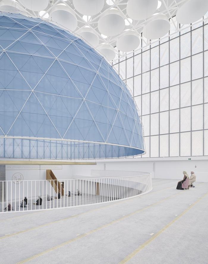 Ganador concurso arquitectónico ArchDaily 2021 proyecto interior religioso