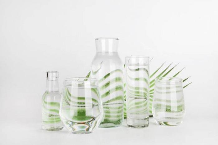 Objetos de cristal sostenibles