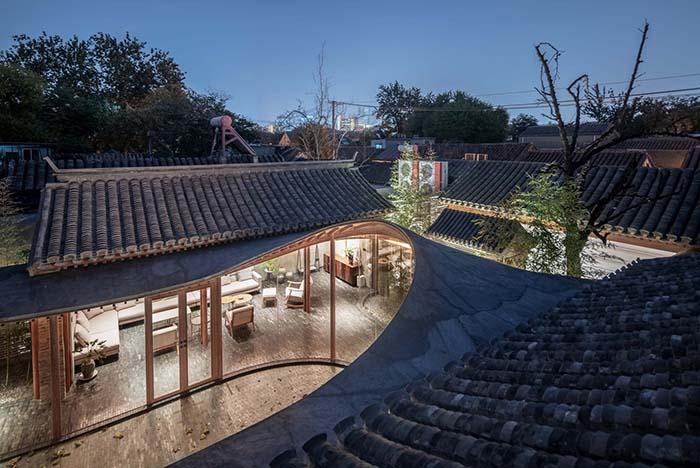 Ganador concurso arquitectónico ArchDaily 2021 vista aerea proyecto arquitectonico