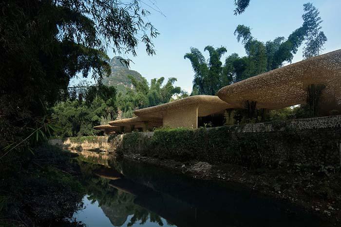 Ganador concurso arquitectónico ArchDaily 2021 exterior bambú