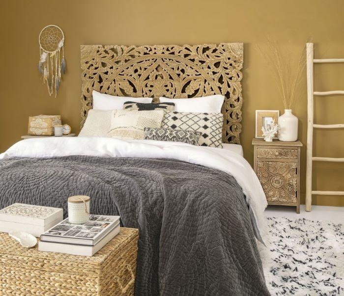 Cabecero para la cama de tu dormitorio de estilo exótico