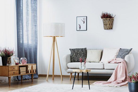 habitación luminosa y con muebles pequeños