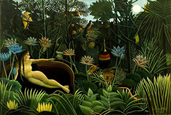 sueño jungla rousseau